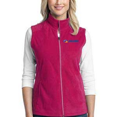 eHealth Technologies Ladies MicroFleece Vest