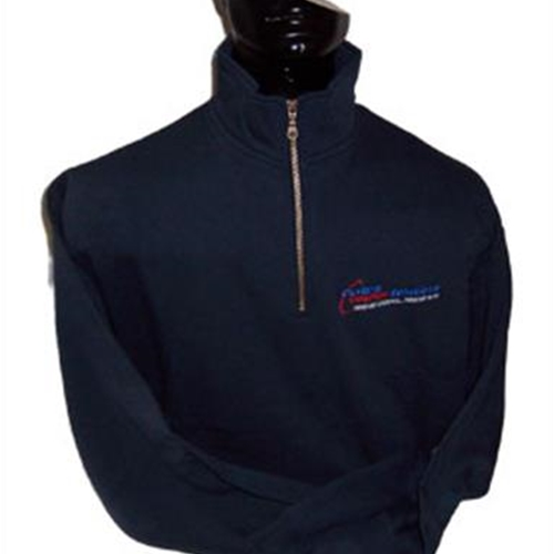 Custom Courier Solutions Adult 1/4 Zip Sweat Shirt