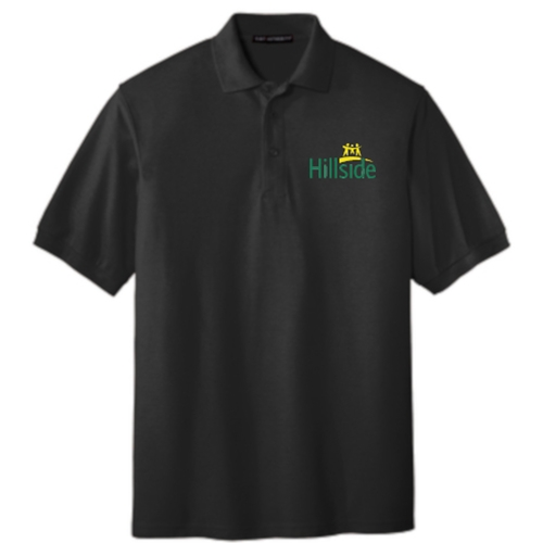 Hillside Service Solutions Adult Mens Polo Shirt