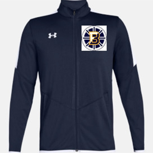Barons Hockey Men's Rival Knit Warm-up Jacket