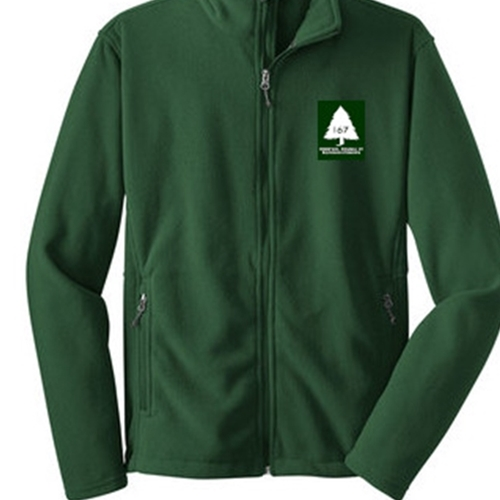 Troop 167 Adult Full Zip Fleece w/Custom Name