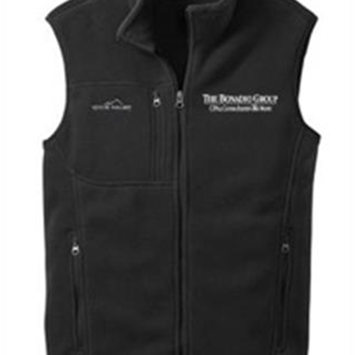 Bonadio Group Mens Eddie Bauer Fleece Vest