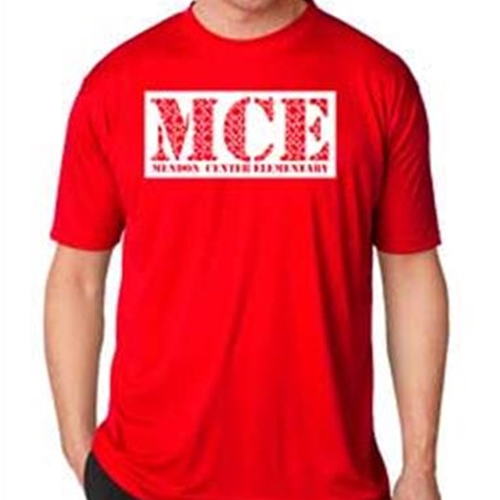 Mendon Center Elementary Mens Performance Tee