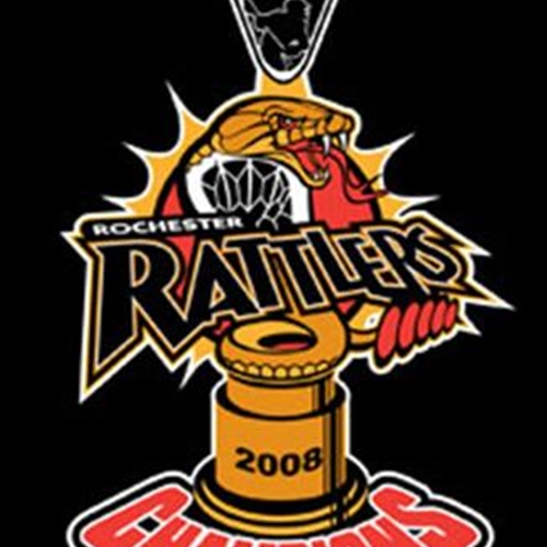 Rattlers 2008 Adult MLL Champs Short Sleeve T Shirts