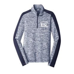Men's Posicharge Electric Heather 1/4 Zip - $30.00